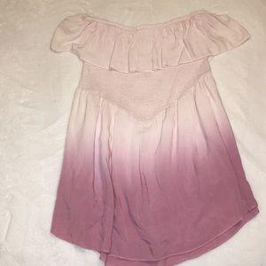 Prómesa Pink Ombré Romper (Size Large)